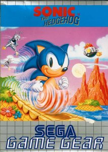 Sonic The Hedgehog per Sega Game Gear