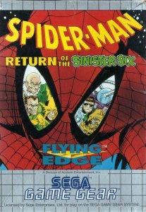 Spider-Man: Return of the Sinister Six per Sega Game Gear