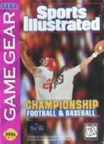 Sports Illustrated: Championship Football & Baseball per Sega Game Gear