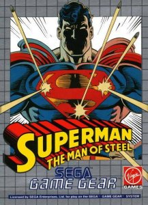 Superman: The Man of Steel per Sega Game Gear