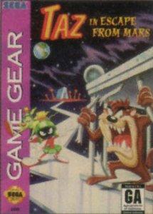 Taz in Escape from Mars per Sega Game Gear