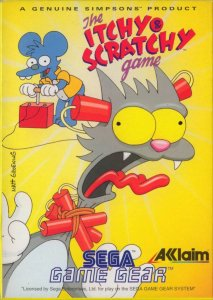 The Itchy and Scratchy Game per Sega Game Gear