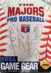 The Majors: Pro Baseball per Sega Game Gear