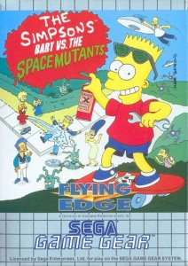The Simpsons: Bart vs. the Space Mutants per Sega Game Gear