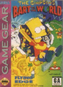 The Simpsons: Bart vs. the World per Sega Game Gear