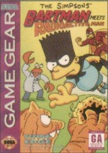 The Simpsons: Bartman Meets Radioactive Man per Sega Game Gear