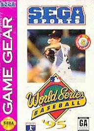 World Series Baseball '95 per Sega Game Gear