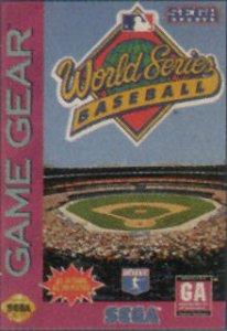 World Series Baseball per Sega Game Gear