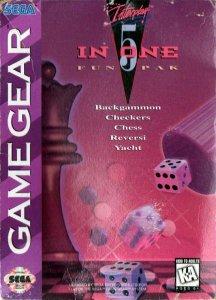 5 In One Fun Pak per Sega Game Gear