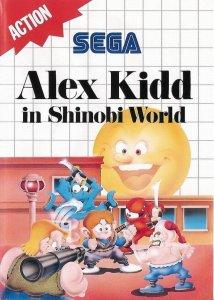 Alex Kidd in Shinobi World per Sega Master System