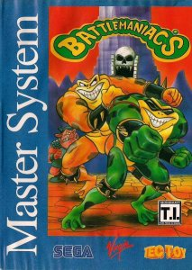 Battletoads in Battlemaniacs per Sega Master System