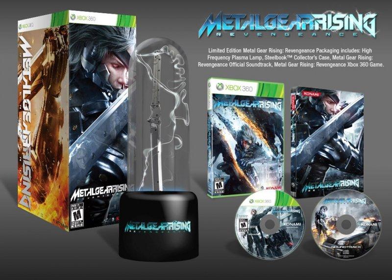 I contenuti della limited di Metal Gear Rising: Revengeance