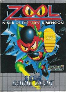 """Zool: Ninja of the """"Nth"""" Dimension per Sega Game Gear"""
