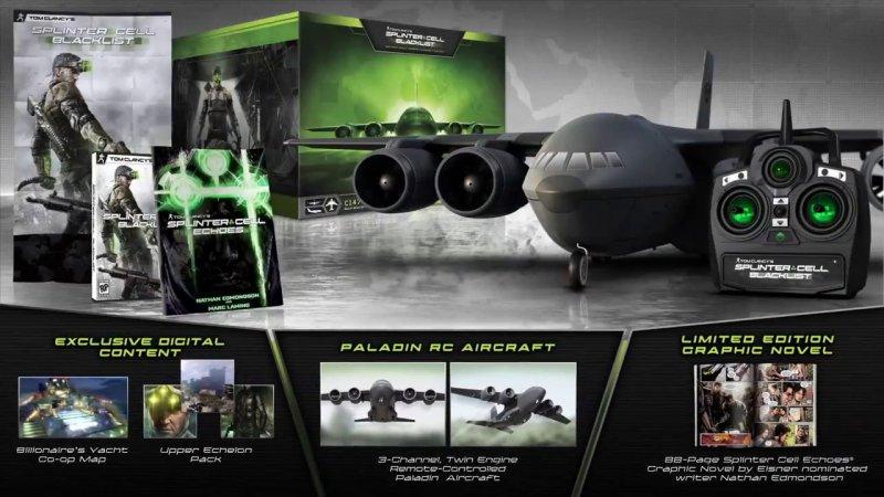 La limited di Splinter Cell: Blacklist conterrà un aereo radiocomandato