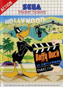 Daffy Duck in Hollywood per Sega Master System