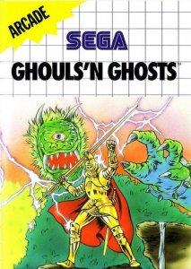 Ghouls'n'Ghosts per Sega Master System