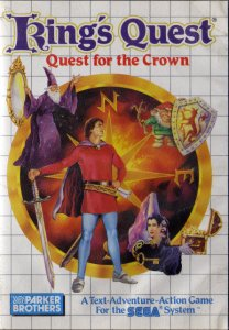 King's Quest: Quest for the Crown per Sega Master System