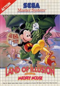Land of Illusion starring Mickey Mouse per Sega Master System
