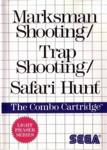 Marksman Shooting / Trap Shooting / Safari Hunt per Sega Master System
