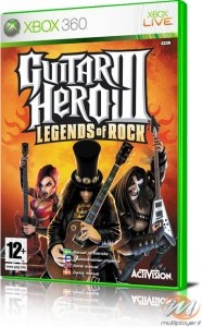 Guitar Hero III: Legends of Rock per Xbox 360