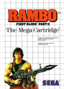 Rambo: First Blood Part II per Sega Master System