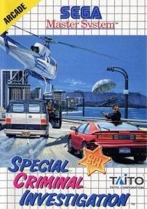 Special Criminal Investigation per Sega Master System