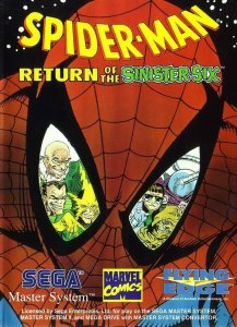 Spider-Man: Return of the Sinister Six per Sega Master System