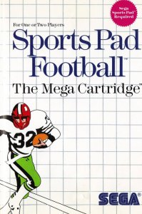 Sports Pad Football per Sega Master System