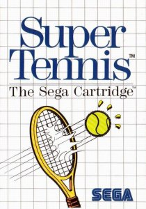 Super Tennis per Sega Master System
