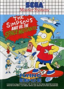 The Simpsons: Bart vs. the Space Mutants per Sega Master System