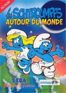 The Smurfs Travel The World per Sega Master System
