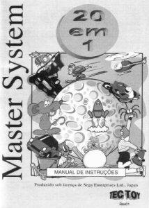 20 em 1 per Sega Master System