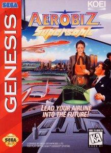 Aerobiz Supersonic per Sega Mega Drive