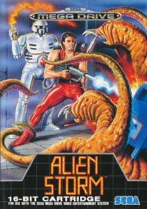 Alien Storm per Sega Mega Drive