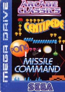 Arcade Classics per Sega Mega Drive