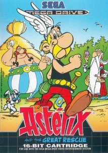 Asterix and the Great Rescue per Sega Mega Drive