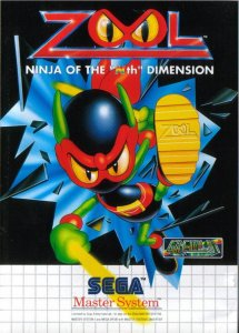"Zool: Ninja of the ""Nth"" Dimension per Sega Master System"