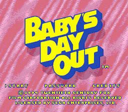 Baby's Day Out per Sega Mega Drive