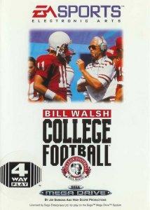 Bill Walsh College Football per Sega Mega Drive