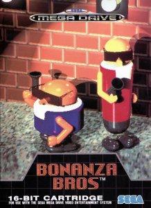 Bonanza Bros per Sega Mega Drive