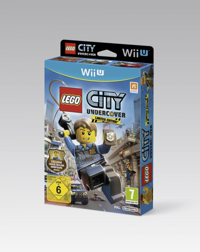 LEGO City Undercover - Un'Edizione Limitata con Chase McCain