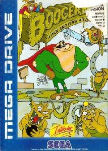 Boogerman: A Pick and Flick Adventure per Sega Mega Drive