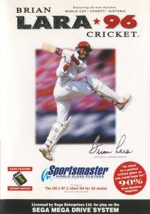 Brian Lara Cricket '96 per Sega Mega Drive