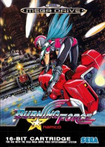 Burning Force per Sega Mega Drive