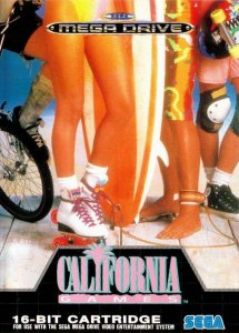 California Games per Sega Mega Drive