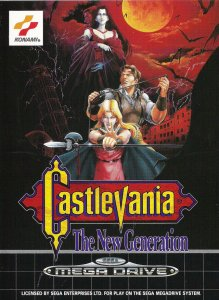 Castlevania: The New Generation per Sega Mega Drive