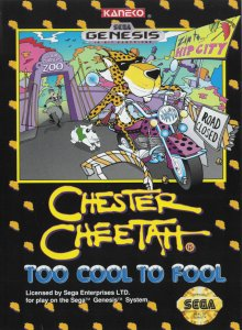 Chester Cheetah: Too Cool to Fool per Sega Mega Drive