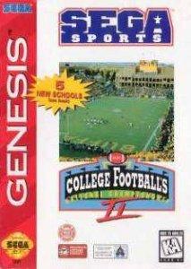 College Football's National Championship II per Sega Mega Drive
