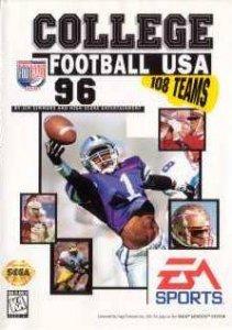 College Football USA '96 per Sega Mega Drive