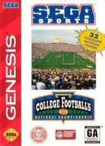 College Football's National Championship per Sega Mega Drive